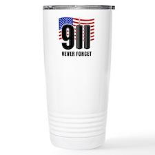 9-11 Never Forget Travel Mug