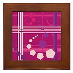 Pentagons taste like Grape Soda Framed Tile