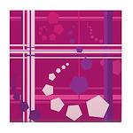 Pentagons taste like Grape Soda Tile Coaster