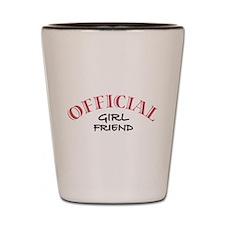 Official Girl Friend Shot Glass