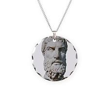 Epicurus Necklace Circle Charm