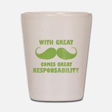great moustache,great responsability