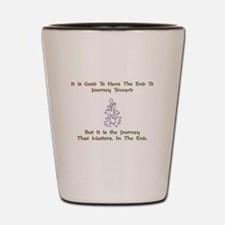 The Journey That Matters Gift Shot Glass