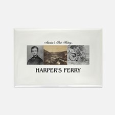 Harper's Ferry Americasbesthistor Rectangle Magnet
