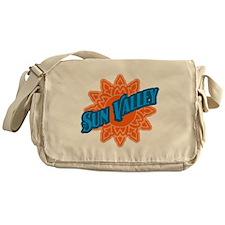 Sun Valley Orange Sun Messenger Bag