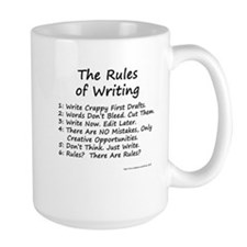 The Rules of Writing Mug