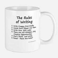 The Rules of Writing Small Mugs