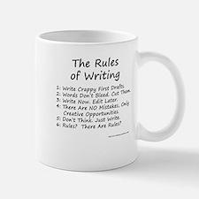 The Rules of Writing Small Small Mug