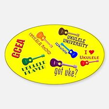 cliché ukulele Decal
