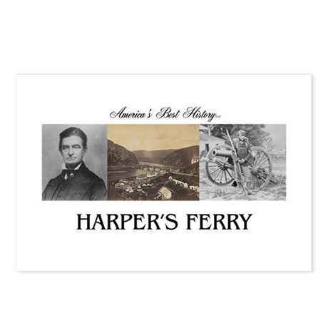Harper's Ferry Americasbe Postcards (Package of 8)