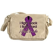 Pancreatic Cancer IFightBack Messenger Bag