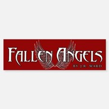 Fallen Angels Red Bumper Bumper Bumper Sticker