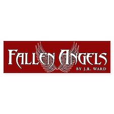 Fallen Angels Red Bumper Bumper Sticker