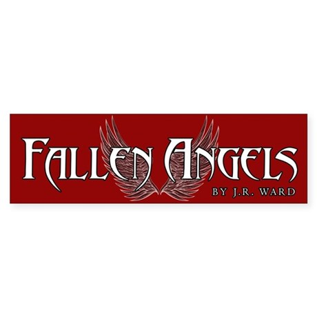 Fallen Angels Red Bumper Sticker