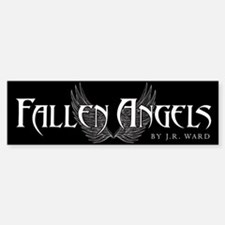 Fallen Angels Black Bumper Bumper Bumper Sticker