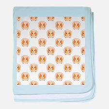 Guinea Pig Pattern baby blanket