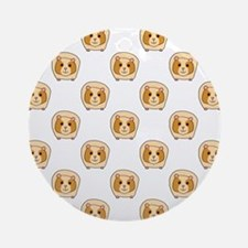 Guinea Pig Pattern Ornament (Round)