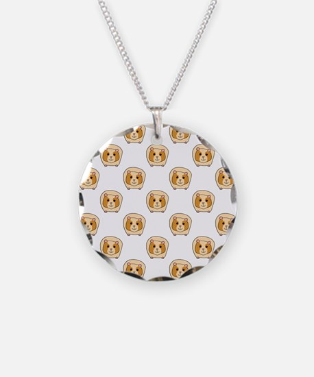 Guinea Pig Pattern Necklace
