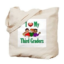 I Love My Third Graders Tote Bag