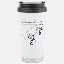 What's Your Sine? Travel Mug