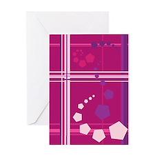 Pentagons taste like Grape Soda Greeting Card