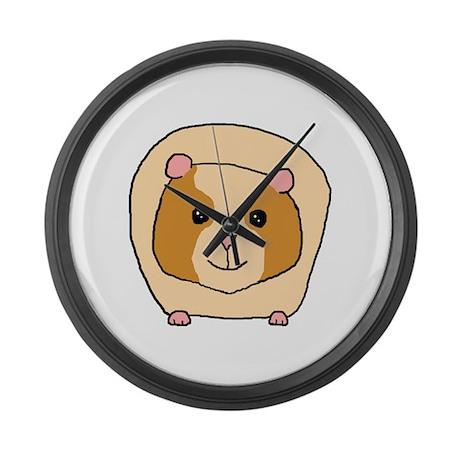 Cute Pet Guinea Pig Large Wall Clock