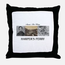 Harper's Ferry Americasbesthistory.co Throw Pillow