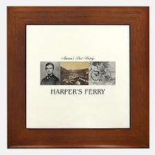 Harper's Ferry Americasbesthistory.com Framed Tile