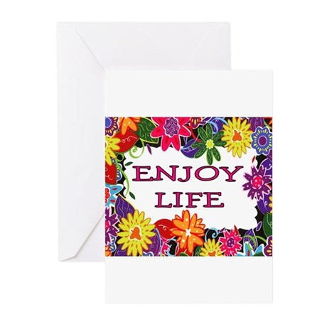 LOVE LIFE Greeting Cards (Pk of 10)