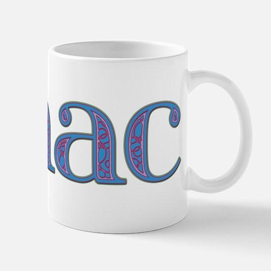 Isaac Blue Glass Mug