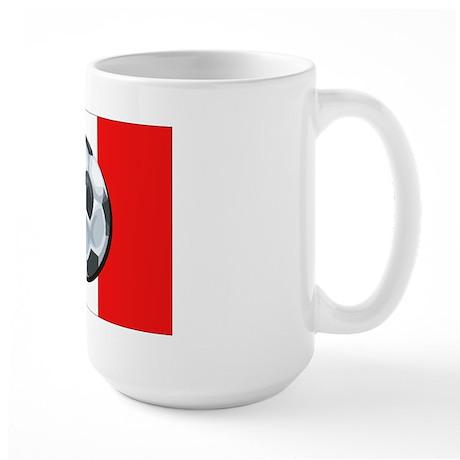 French Soccer Large Mug