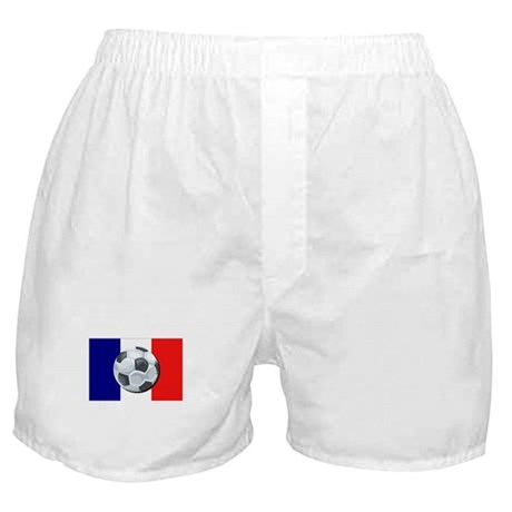 French Soccer Boxer Shorts