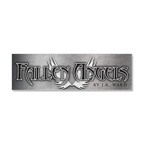 Fallen Angels Silver Car Magnet