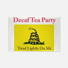 Decaf Tea Party Rectangle Magnet