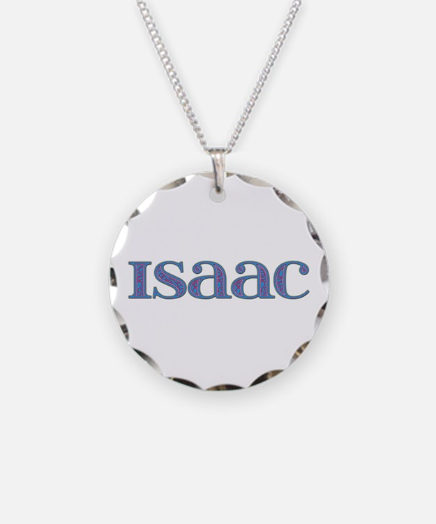 Isaac Blue Glass Necklace