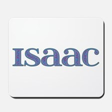 Isaac Blue Glass Mousepad