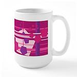 Pentagons taste like Grape Soda Large Mug