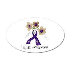 Lupus Awareness 22x14 Oval Wall Peel