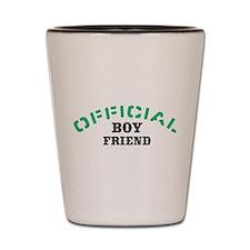 Official Boy Friend Shot Glass