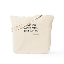 Writing Rule #3 Tote Bag