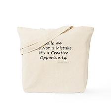 Writing Rule #4 Tote Bag