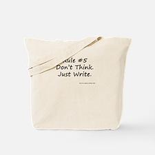 Writing Rule #5 Tote Bag