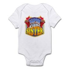 Super Little Sister Infant Bodysuit