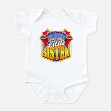 Super Little Sister Infant Bodysuit