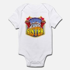 Super Little Sister Onesie