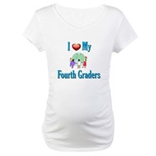 I Love My Fourth Graders Shirt