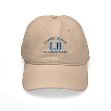 Lewes Beach DE - Varsity Design. Baseball Cap