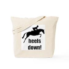 heels down jumper Tote Bag