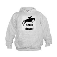 heels down jumper Hoodie