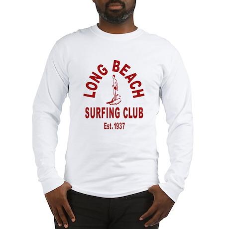 Long Beach Surfing Club Long Sleeve T-Shirt